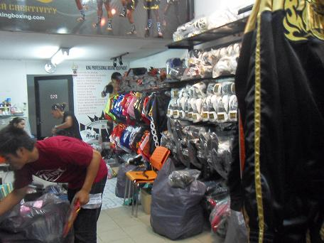 Buying Muay Thai Supplies in Bangkok